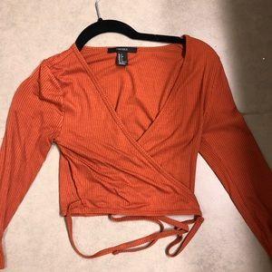 Tops - Burnt orange top